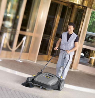 Karcher Outside Sweeper